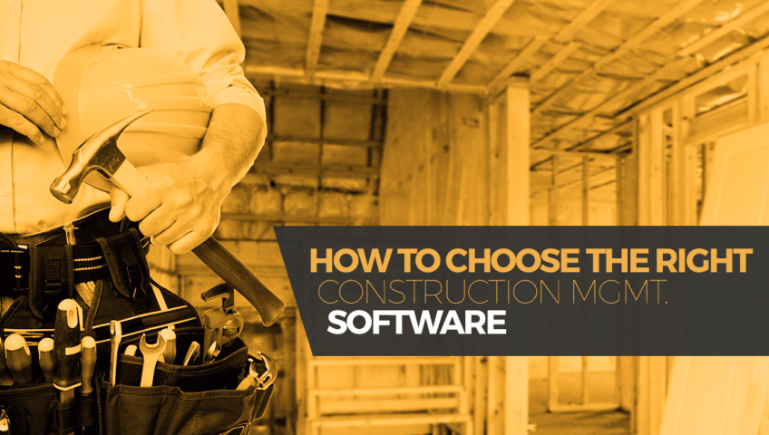How to choose the right construction management software for How to choose a building contractor