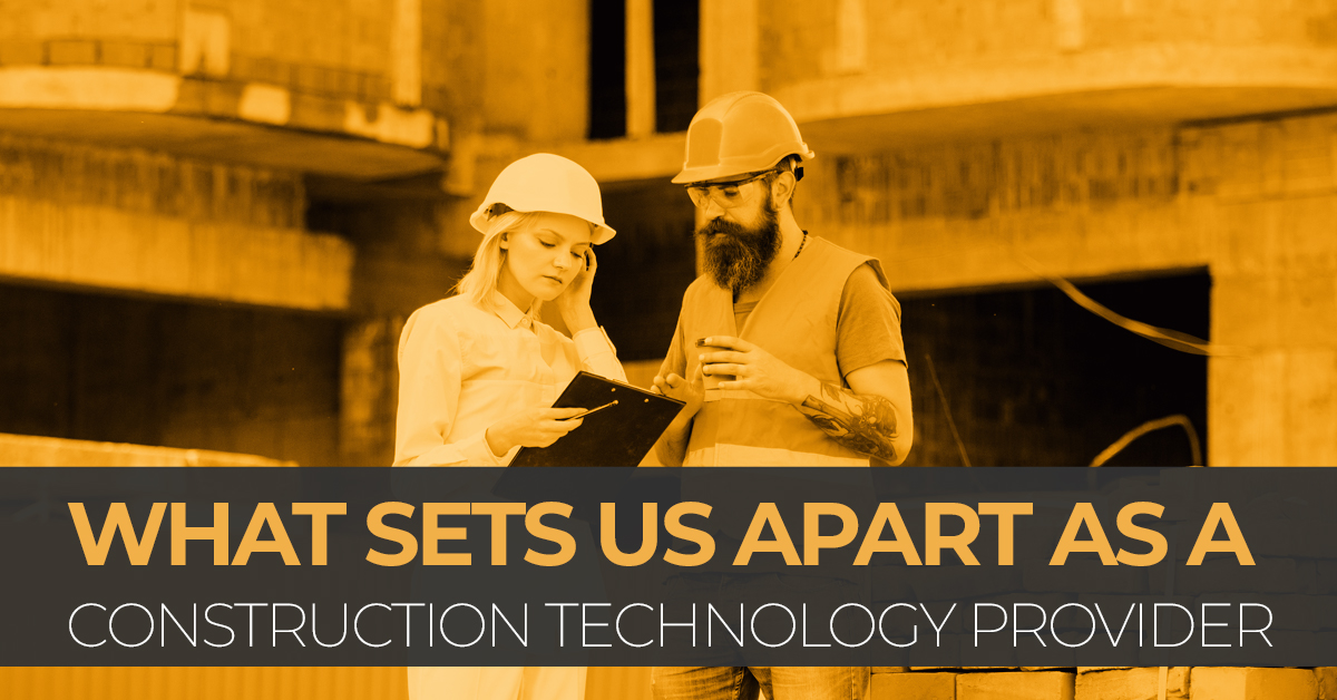 What Sets Us Apart As A Construction Technology Provider - SITECH